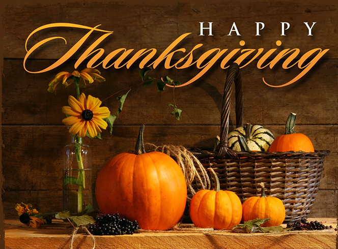 THANKSGIVING DAY HOLIDAY HOURS